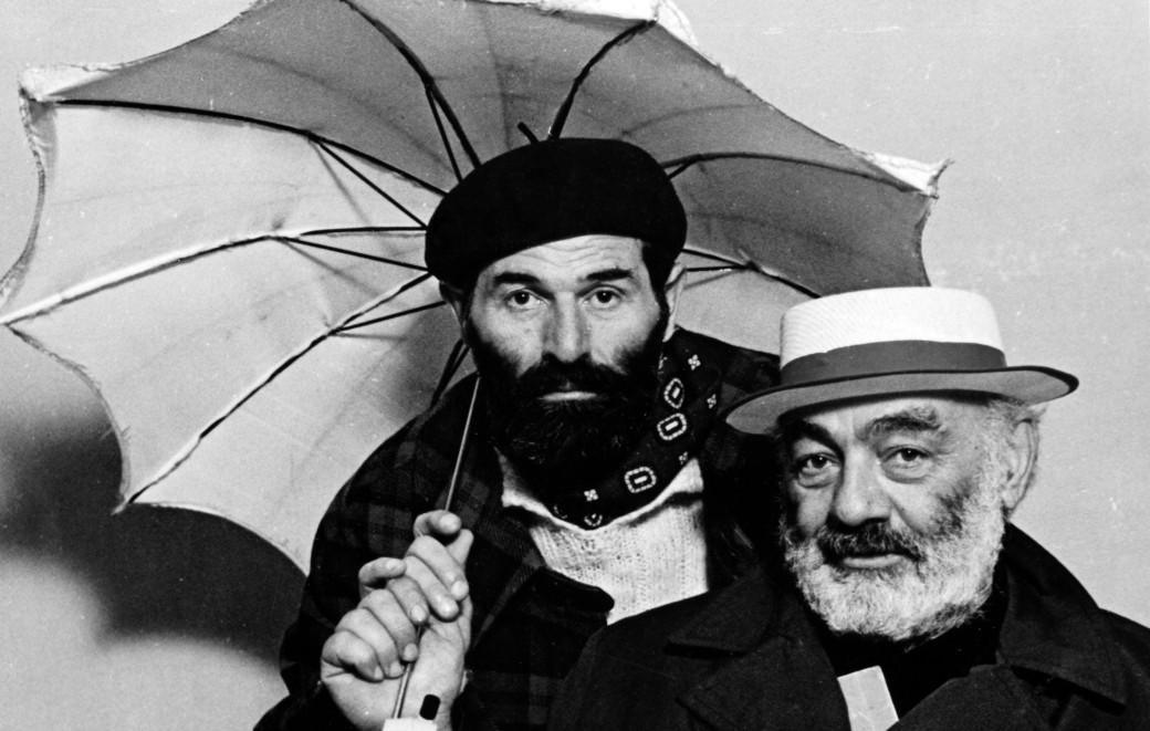 Sergei Parajanov and Mikhail Vartanov