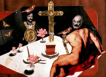 Parajanov's collage with Tarkovsky