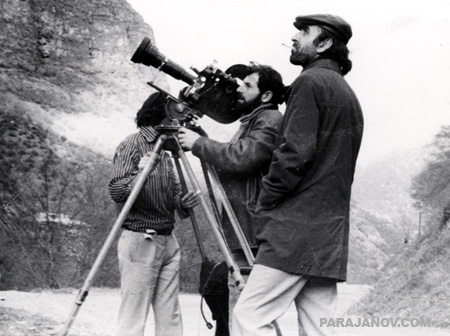 Cinematographer Mikhail Vartanov and Artavazd Peleshyan
