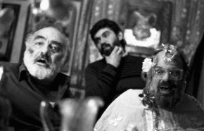 Parajanov and Allen Ginsberg by Yuri Mechitov in Tbilisi, Georgia, Soviet Union