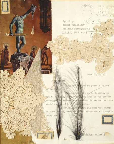 PARAJANOV.com - Fellini letter to Paradjanov