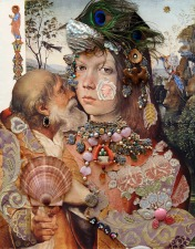 PARAJANOV.com - Pinturicchio and Raphael collage by Sergei Parajanov