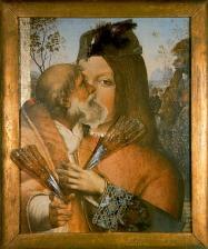 PARAJANOV.com - Pinturicchio and Raphael collage variation by Sergei Parajanov