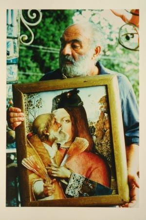 PARAJANOV.com - Sergei Paradjanov with his collage