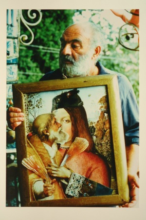 PARAJANOV.com - Sergei Paradjanov with his collage