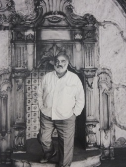 Parajanov in Istanbul photographed by Ara Guler