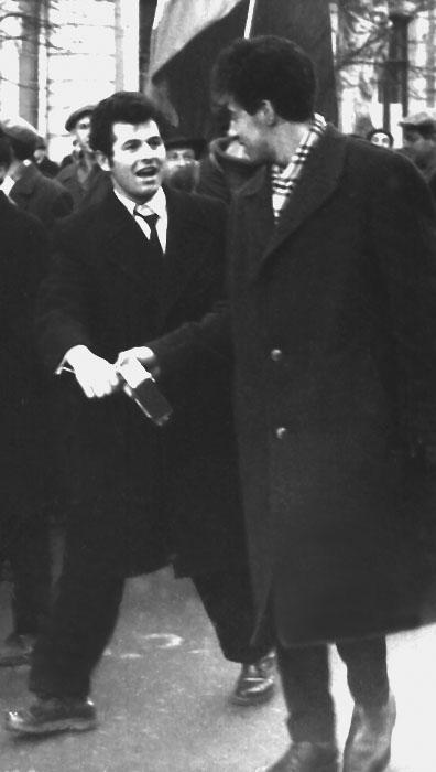 Mikhail Vartanov and Aleksander Belobokov