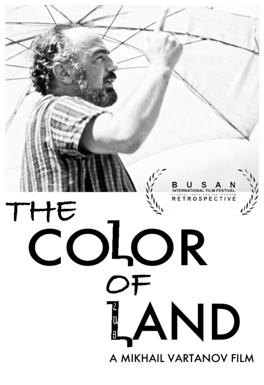 Parajanov by Vartanov in his 1969 supressed debut film The Color of Land