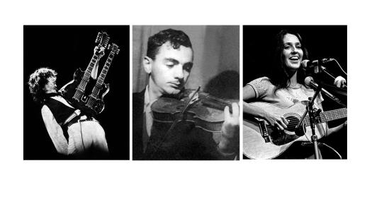 Parajanov, Jimmy Page, Joan Baez