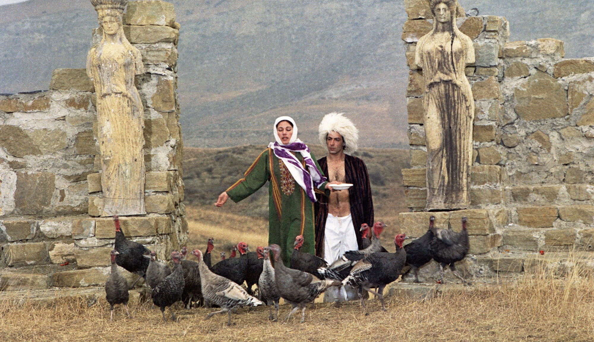 The Legend of Surami Fortress by Sergei Parajanov