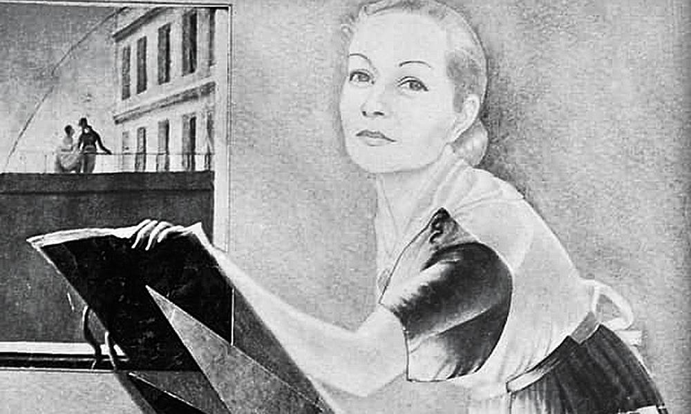 Svetlana Shcherbatiuk Paradjanova by Sergei Parajanov